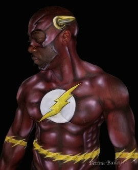 Bling it on Parties - Super Hero Body Art